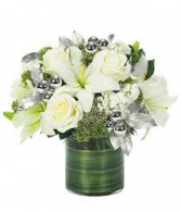 Holiday Lily Rose Arrangement