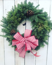 Holiday Live Wreath