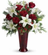 Holiday Magic All-Around Floral Arrangement