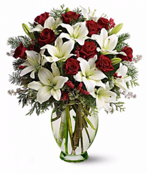 Holiday Magic Arrangement in Redlands, CA | REDLAND'S BOUQUET FLORIST & MORE
