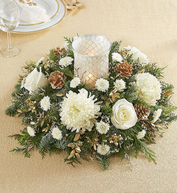 Holiday Magic Centerpiece centerpiece arrangement