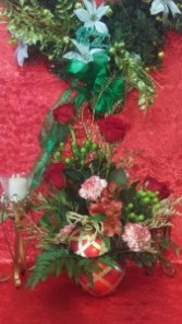 Holiday Ornament Arrangement Christmas