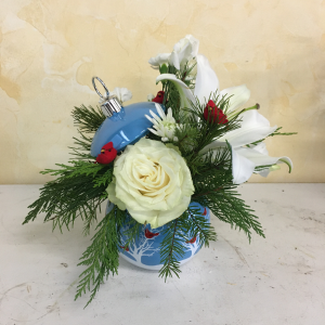 Holiday Ornament Keepsake Christmas in Cushing, OK | BUSY BEE FLORAL