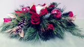 Holiday Scented Candle Centerpiece