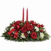 Holiday Shimmer Holiday Centerpiece