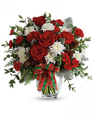 Holiday Shine Bouquet in Jasper, TX | BOBBIE'S BOKAY FLORIST