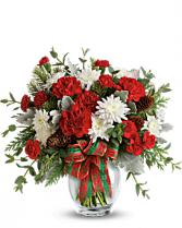 Holiday Shine Bouquet Arrangement