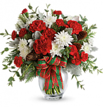 Holiday Shine Bouquet Arrangement