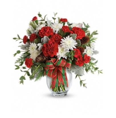 Holiday Shine Bouquet  Christmas