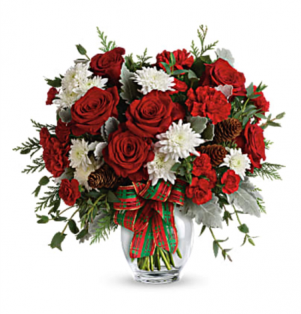 Holiday Shine Bouquet  Christmas bouquet