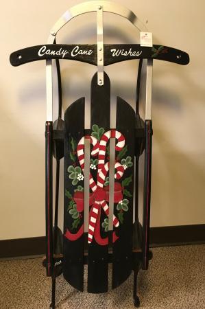 Holiday Sled Gift