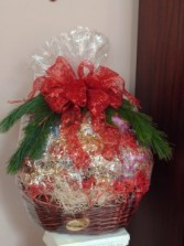 Holiday Snack Food Basket 1441 (Houston only) Christmas