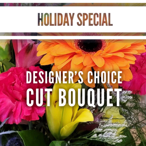 Holiday Special - Designer's Choice Cut Bouquet   in Winnipeg, MB | THE FLOWER LADY