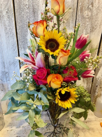 Holiday Special sunflowers/roses/tulips