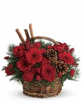 Christmas* Holiday Spice Basket Christmas