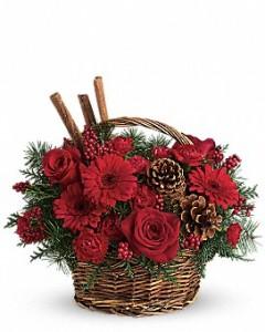 Christmas* Holiday Spice Basket Christmas