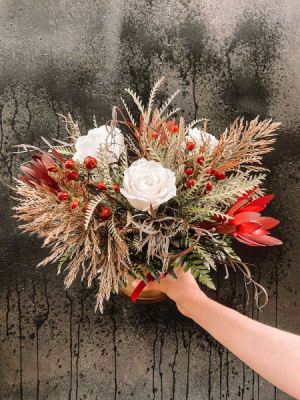 Holiday Spice Centerpiece in Iowa City, IA   Every Bloomin' Thing