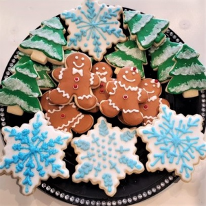 Holiday Sugar Cookies Sweet Blossoms in Jamestown, NC | Blossoms Florist & Bakery