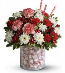 Exclusively at Flowers Today Florist Holiday Surprise Keepsake Container