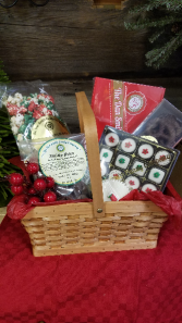 Holiday Sweets Basket Gourmet Gift