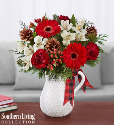 Holiday Tidings™ by Southern Living® Vase Arrangement