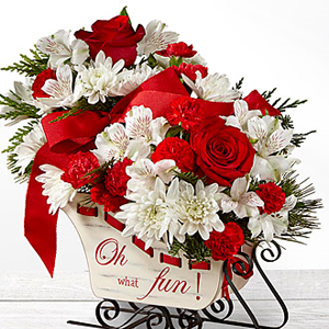 Holiday Traditions Bouquet Holiday Floral Arrangement