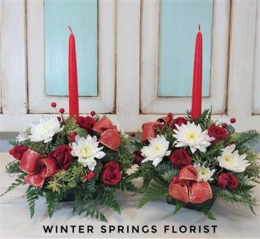 Holiday Traditions Double Centerpiece