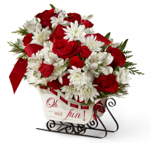 Holiday Traditions FTD ARRANGEMENT