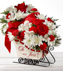 Holiday Traditions Vase