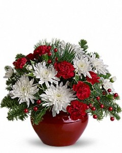 Holiday Treasure Christmas Arrangement