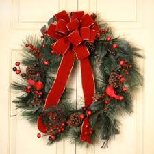 Holiday Welcoming Wreath