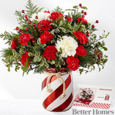 Holiday Wishes Bouquet Holiday Floral Arrangement