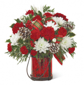 Holiday Wishes Christmas Arrangement