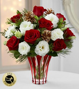 Holiday Wishes FTD in Springfield, IL | FLOWERS BY MARY LOU INC