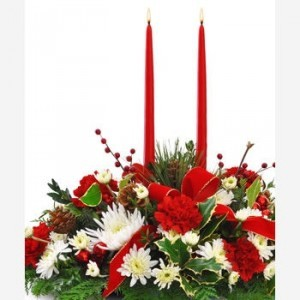 HOLIDAY WISHES     Table  Centerpiece