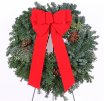 Holiday Wreath  22""