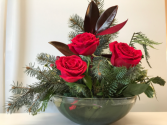 Holly & Roses Christmas