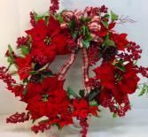 Holly Berry Blast Permanent Botanical Wreath
