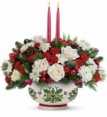 Holly Days Christmas Bouquet