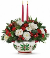 Holly Days  Floral Arrangement