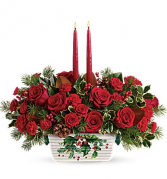 Holly Glow Centerpiece Centerpiece