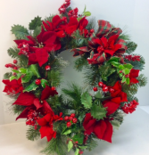 Christmas Traditions Permanent Botanical Wreath
