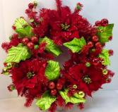 Holly Holiday Permanent Botanical Wreath
