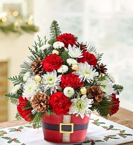 Holly Jolly Bouquet  in Oakdale, NY | POSH FLORAL DESIGNS INC.
