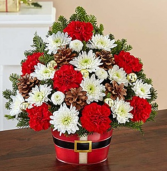 Holly Jolly Bouquet Arrangement