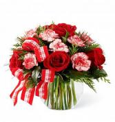 Holly Jolly Bouquet Arrangement