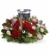 Holly Jolly Centerpiece HWR103A