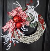 Holly Jolly CHristmas Artificial Wreath