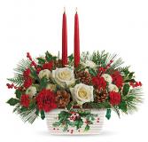 Holly Jolly Christmas Christmas Centerpiece