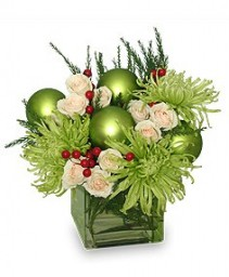 Holly Jolly Christmas Christmas Vase